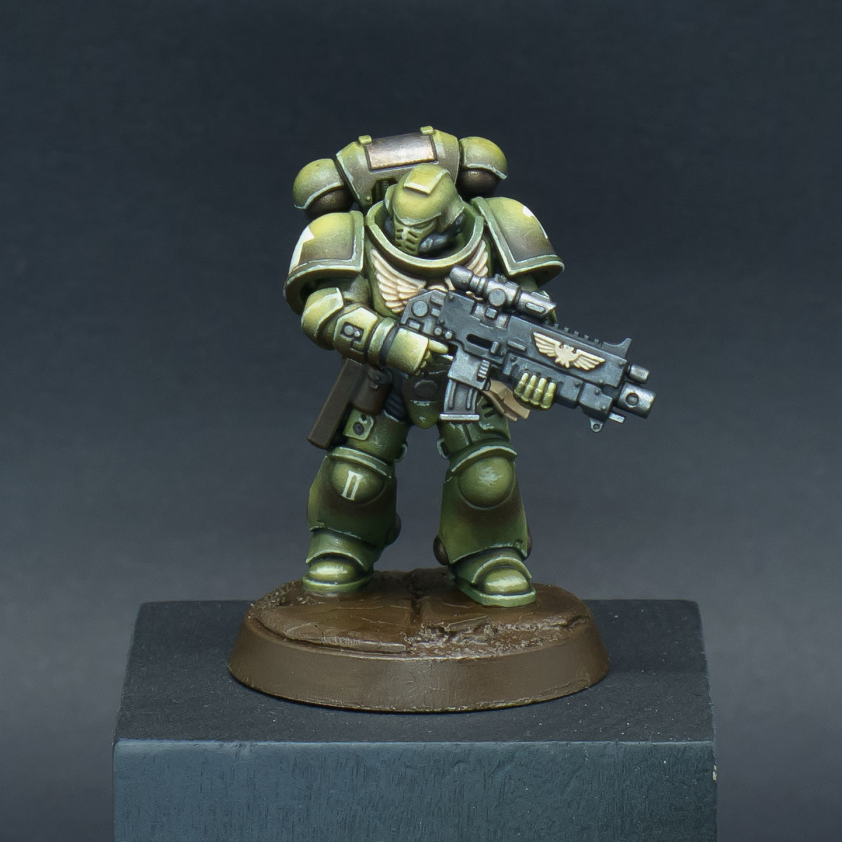 How to paint Raptors Space Marines - Step 9a