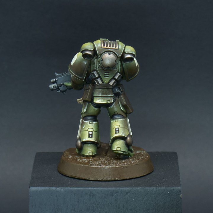 How to paint Raptors Space Marines - Step 10b