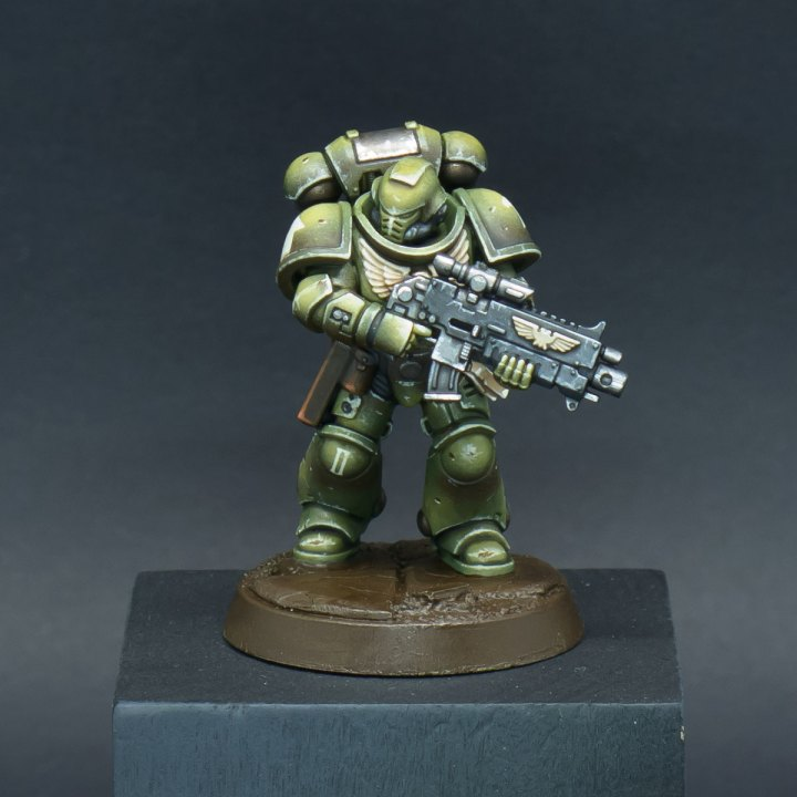 How to paint Raptors Space Marines - Step 11a