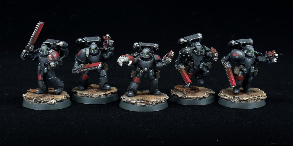 Death Company (Forge World MKIV Destroyers)