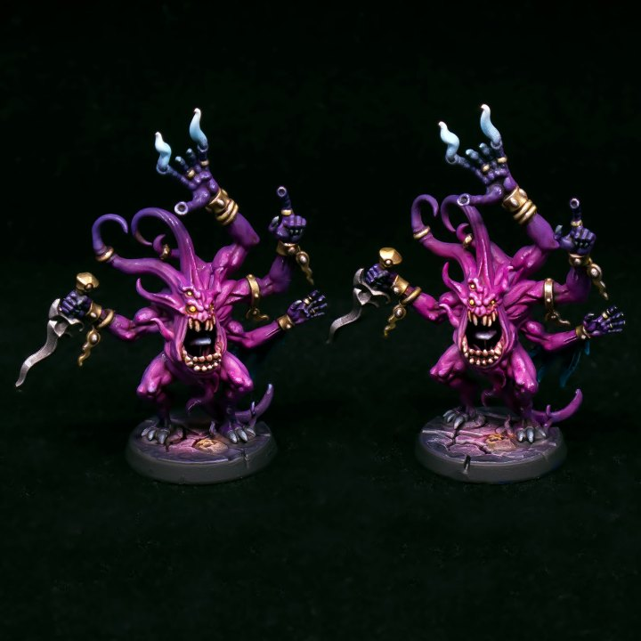 The Mighty Brush Pink Horrors front