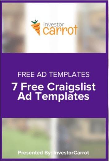 Investor Carrot FREE Craigslist Ads