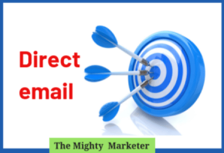 Direct email works for freelancers