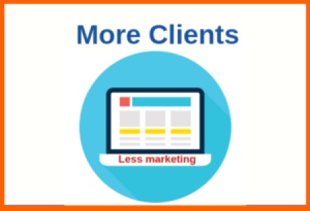 Attract more clients with less marketing with your freelance website