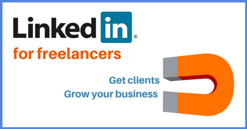 LinkedIn helps freelancers get clients