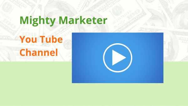 The Mighty Marketer YouTube Channel