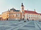 Things to do in Sibiu - see the Holy Trinity Roman Catholic Church in Piata Mare