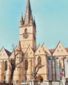 Things to do in Sibiu - see the Lutheran Evangelical church of Saint Mary in Huet Square