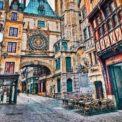 Rouen gros horloge clock tower