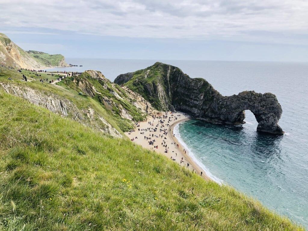 Durdle Door in England - Underrated EUR beach destination