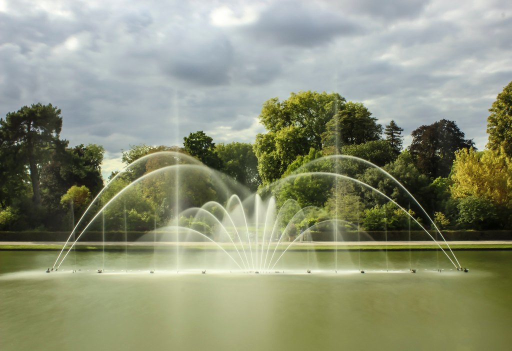 Versailles Fountains, an annual spring event that takes place at the Palace.