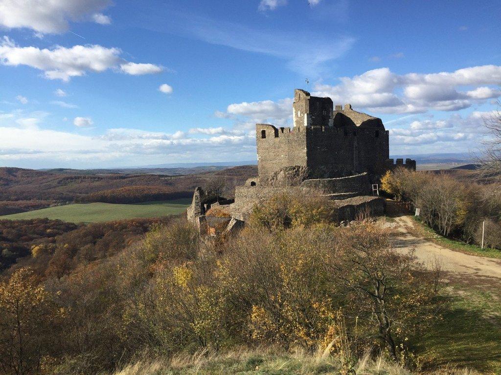Holloko Castle in Hungary.
