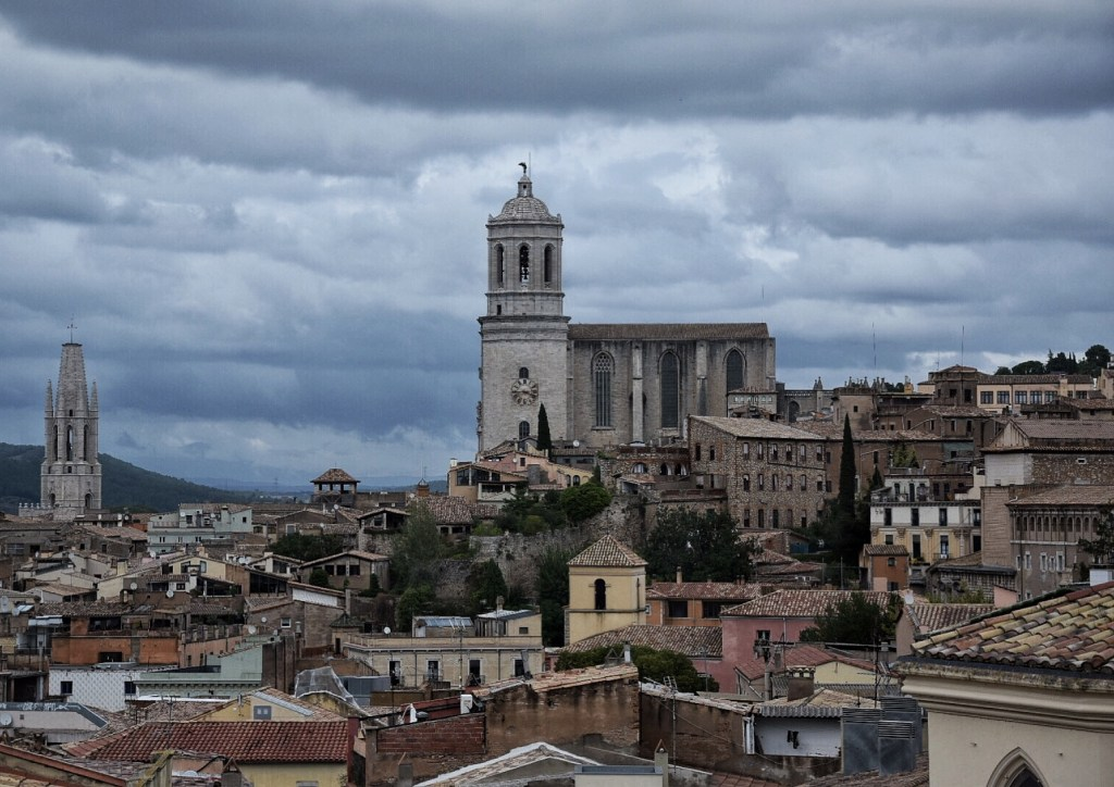 Girona, Spain cityscape