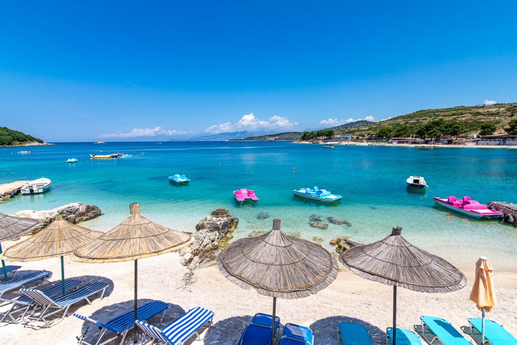 underrated beach destination in Europe - Ksamil, Albania