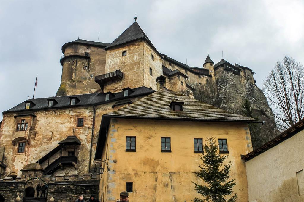 Orava Castle in Slovakia