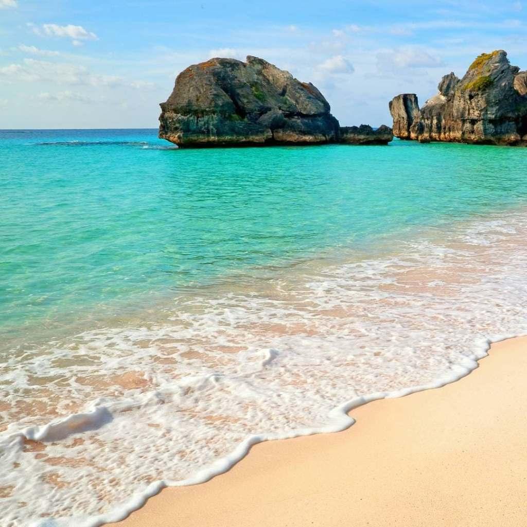 Beach at Warwick Long Neck in Bermuda