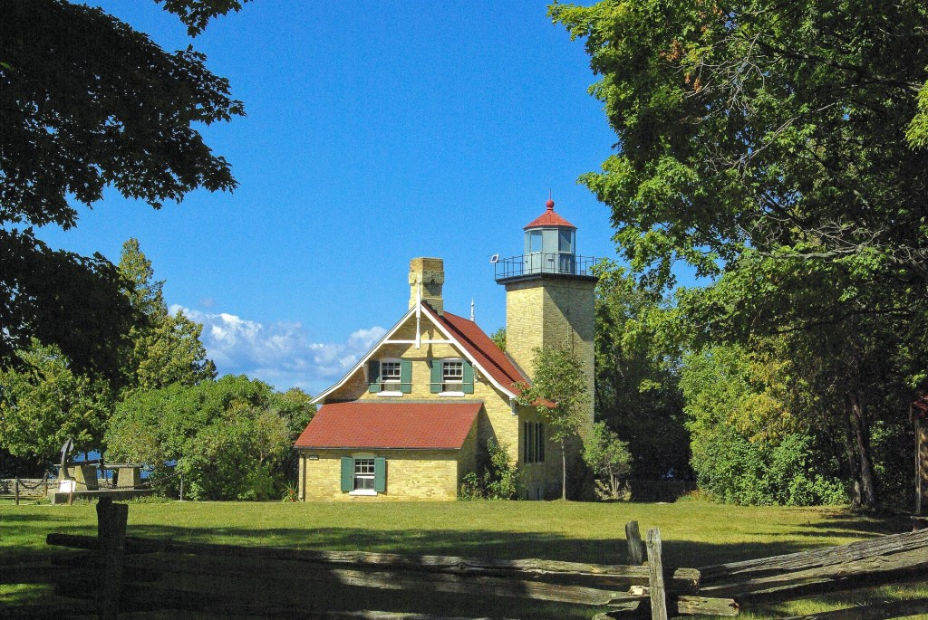 Eagly Bluff Lighthouse in Green Bay, Wisconsin