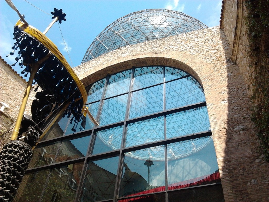 Dali museum in Figueres, Spain - an easy day trip from Barcelona.