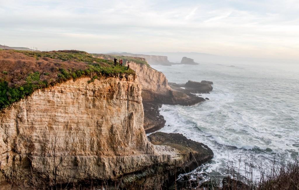 Oceanside cliffs in Santa Cruz, California, an underrated US city
