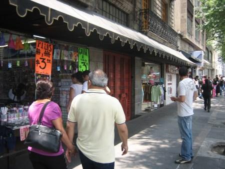 Calle Hidalgo in the Centro Historico