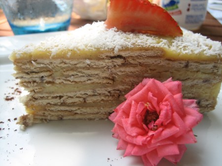Tarta de galleta from Maison Belen in the Polanco neighborhood of Mexico City