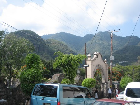 The mountains of Malinalco