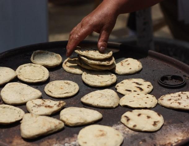 Tlacoyos on Comal_Puebla