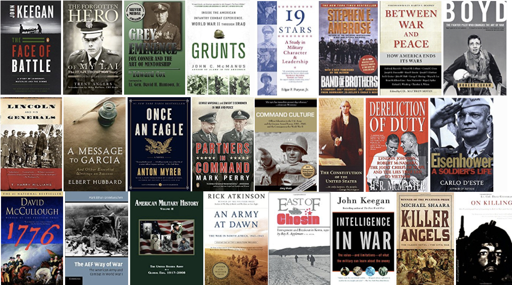 The Military Leader Reading List