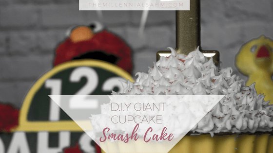 Learn how to make a delicious Cupcake Smash Cake at home for your little one's First Birthday or Smash Cake Pictures!