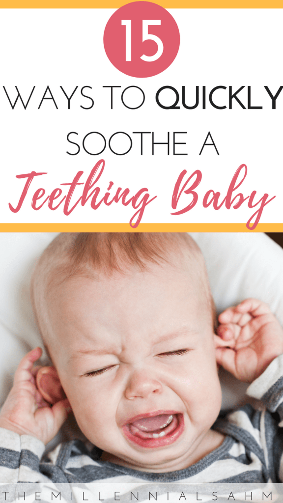 Looking to provide your little one with relief from their teething pain the natural way? Check out these 15 natural teething remedies that actually work.