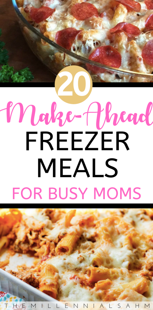 Whether you're a new mom to be, or a busy mom looking to save time and money, these delicious freezer meal ideas are perfect for the entire family!