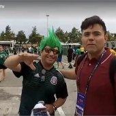 Cobertura en Vivo Estadio NRG Houston Texas, CONCACAF Copa Oro, en el Fiesta Fútbol antes del partido de México vs Costa Rica. S1C7