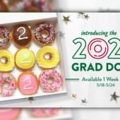Krispy Kreme ofrece donas 'docenas de graduados 2020' gratis a la clase de graduados
