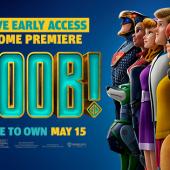 Estas invitado al gran      estreno en casa de SCOOB! disponible el 15 de mayo en sus plataformas      digitales preferidas.