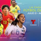 Telemundo Deportes sigue presentando al menos 12 horas de cobertura diaria multimedia durante los Juegos Olímpicos de Tokio…