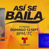 ASI SE BAILA,LA NUEVA COMPETENCIA DE BAILE DE TELEMUNDO, ENTREVISTA A CARLOS ADYAN…