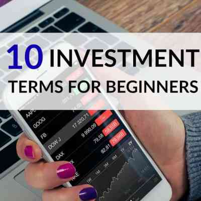 10 Investment Terms for Beginners