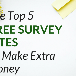 The Top 5 Legit Survey Sites That Pay