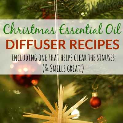 Christmas Essential Oil Diffuser Recipes
