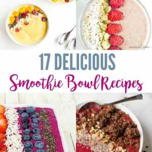 17 Delicious Smoothie Bowls Recipes For a Healthy Start To Your Day
