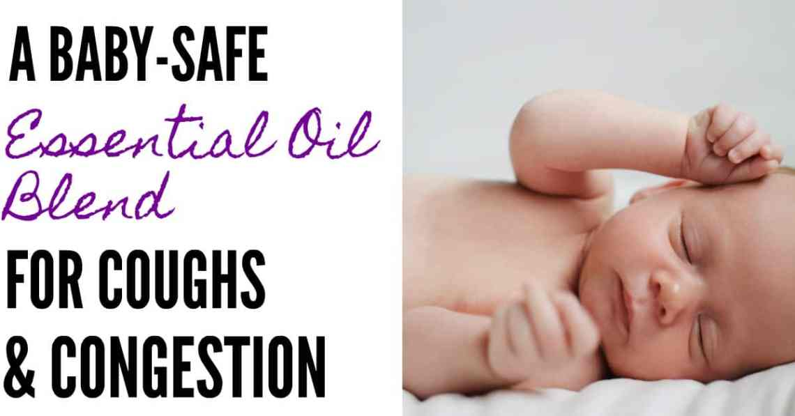 baby-safe essential oil blend for colds and congestion