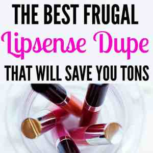 The Best Lipsense Dupe There Is – Frugal Alternative to Lipsense!