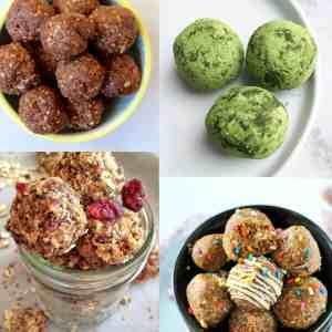 20 Healthy No-Bake Energy Ball Recipes