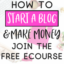 how to start a blog and make money doing it