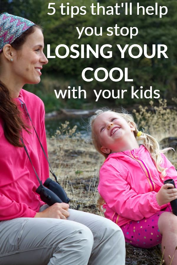 How to stop losing your temper with your kids and be a more patient mom. #parentingtips #newparentadvice #howtobemorepatient
