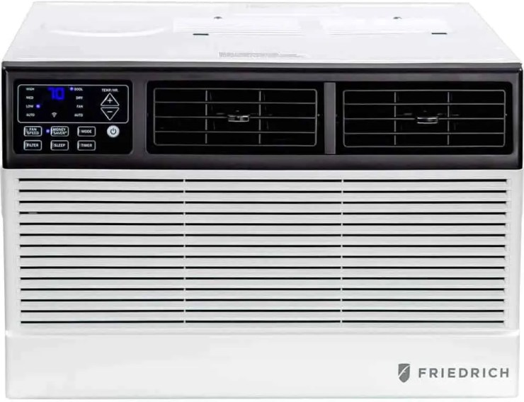Friedrich Chill Premier 6,000 BTU Smart Window Air Conditioner with Built-in WIFI