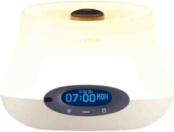 Lumie Bodyclock IRIS 500 - Aromatherapy Wake-Up Light Alarm Clock by Lumie