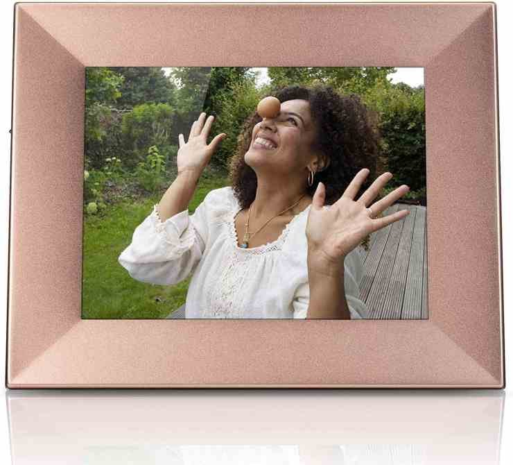 Nixplay Iris 8 Inch WiFi Digital Picture Frame