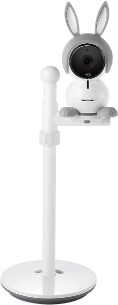 Arlo Baby Monitor | Smart Wi-Fi Baby Camera with Table:Wall Stand