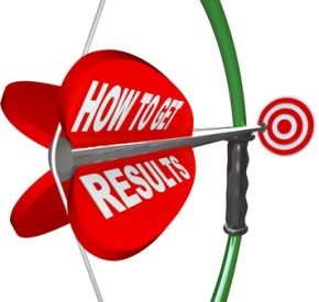 How to Get Results Bow Arrow Target Goal